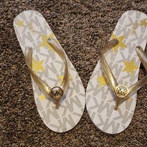 Women MK Flip Flops